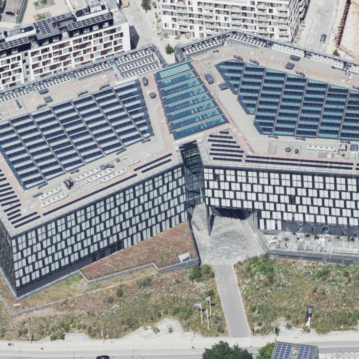 Nordea Bank<br> Nyt hovedsæde